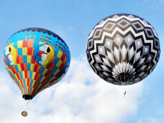 Balões no Rio de Janeiro